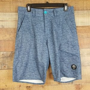 Vans Vanphibian Board Shorts Mens Size 30 Blue TX1